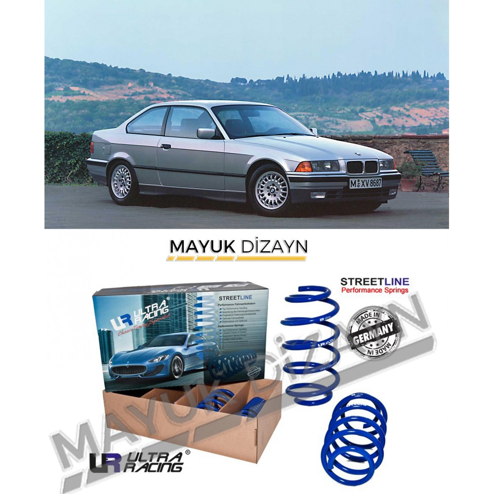 BMW E36 ULTRA RACİNG SPOR YAY (1990-1999) --MAYUK Dizayn--