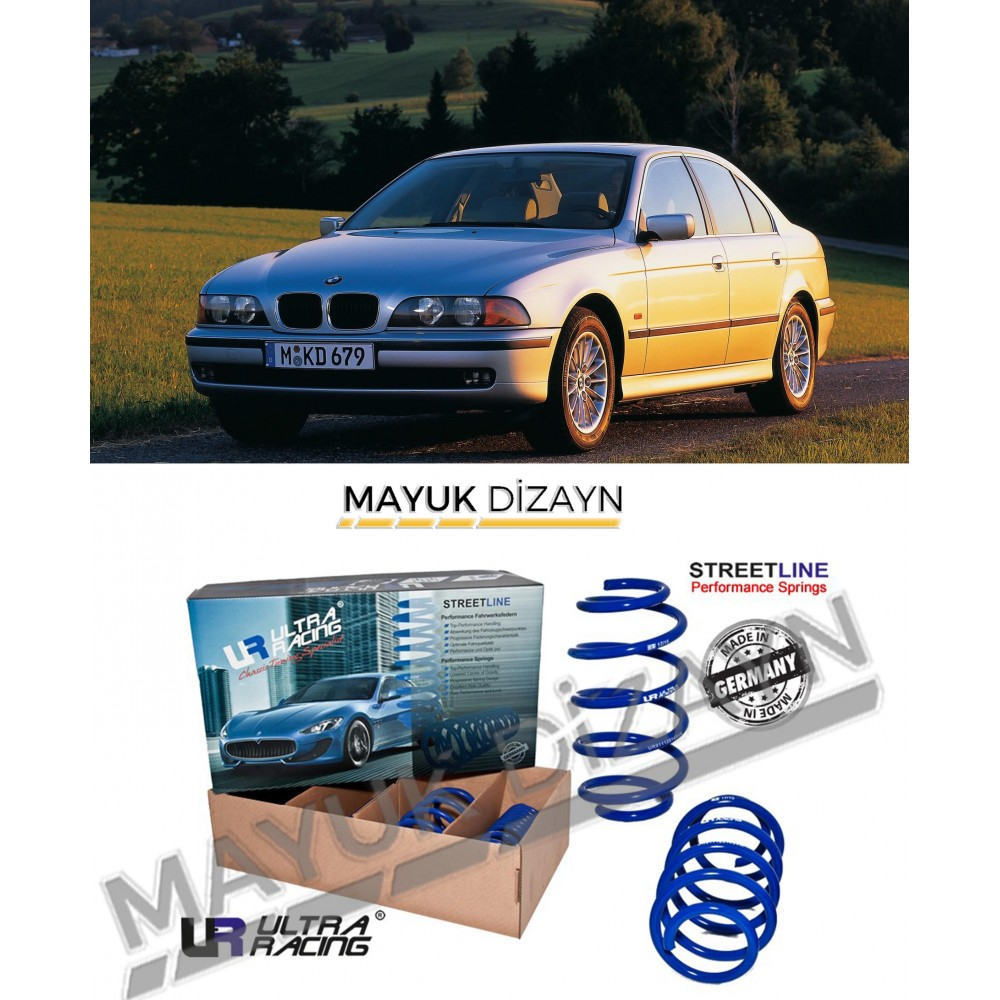 BMW E39 ULTRA RACİNG SPOR YAY (1995-2003) --MAYUK Dizayn--