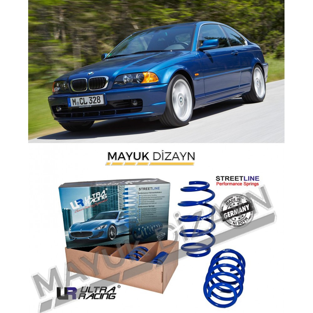 BMW E46 ULTRA RACİNG SPOR YAY (1998-2005) --MAYUK Dizayn--