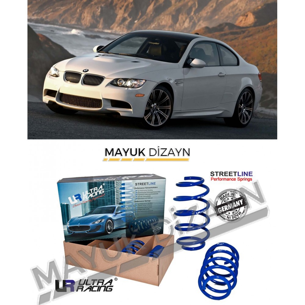 BMW E92 ULTRA RACING SPOR YAY (2007-2013) --MAYUK Dizayn--