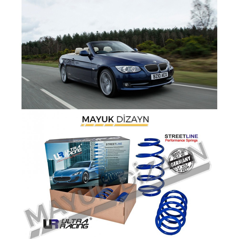BMW E93 ULTRA RACING SPOR YAY (2007-2013) --MAYUK Dizayn--