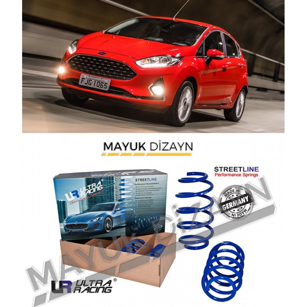 FORD FİESTA ULTRA RACING SPOR YAY (2008-2017) --MAYUK Dizayn--