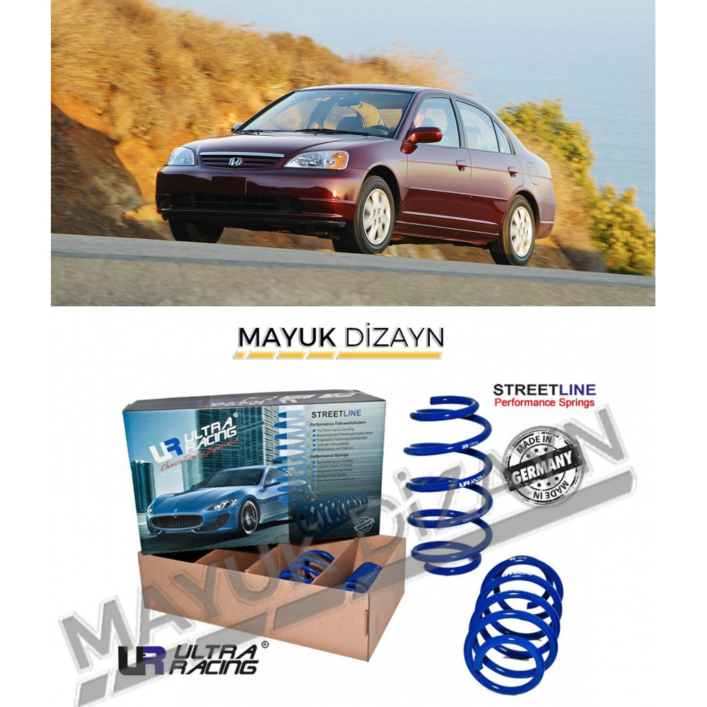 HONDA CİVİC  VTEC 2 ULTRA RACİNG SPOR YAY (2000-2005) --MAYUK Dizayn--