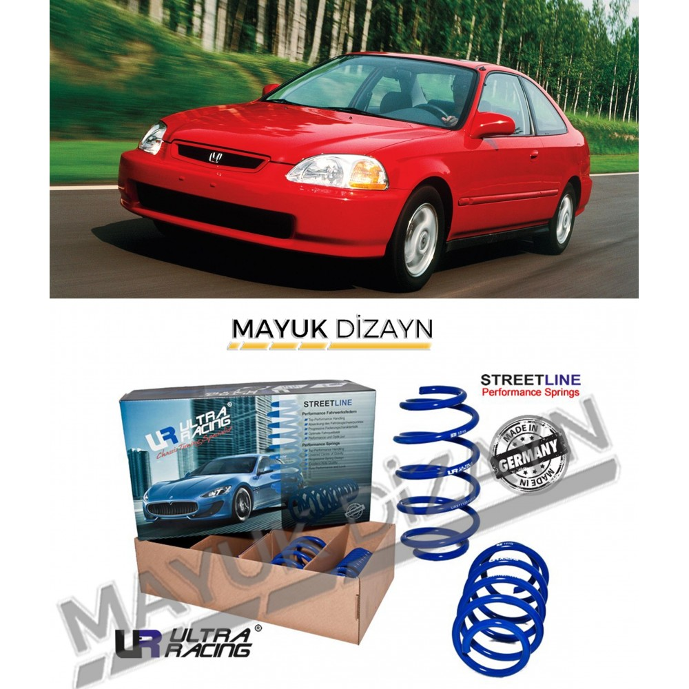 HONDA CİVİC ULTRA RACING SPOR YAY (1990-2000) --MAYUK Dizayn--