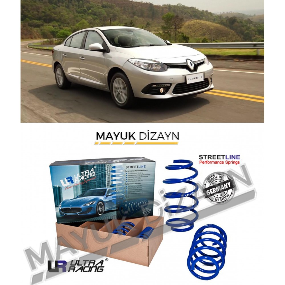 RENAULT FLUENCE ULTRA RACING SPOR YAY (2009-2016) -MAYUK Dizayn-