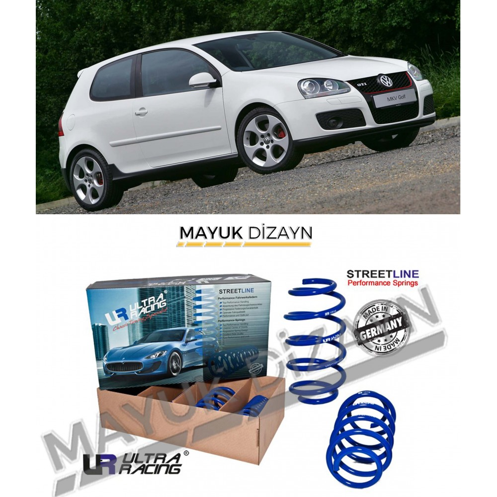 VW GOLF MK5 ULTRA RACING SPOR YAY (2003-2009) -MAYUK Dizayn-