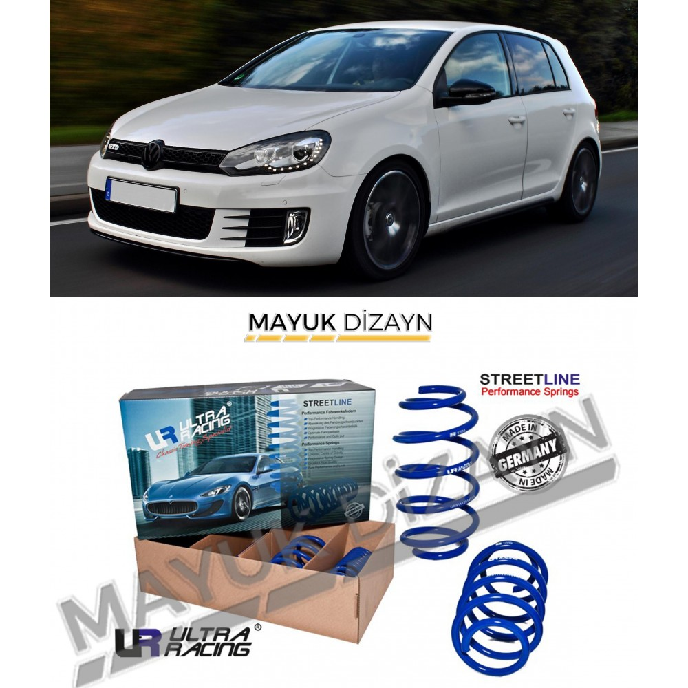 VW GOLF MK6 ULTRA RACING SPOR YAY (2008-2012) -MAYUK Dizayn-