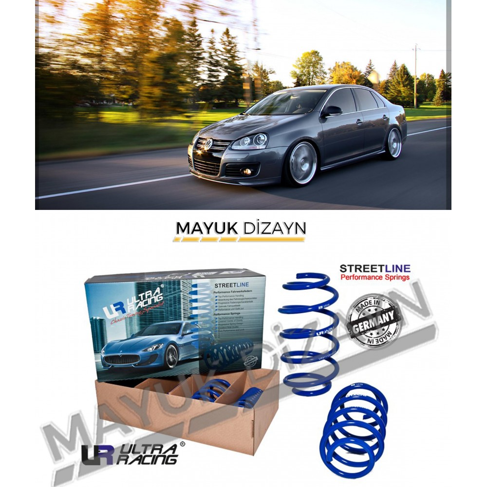 VW JETTA MK5 ULTRA RACING SPOR YAY (2005-2010) -MAYUK Dizayn-