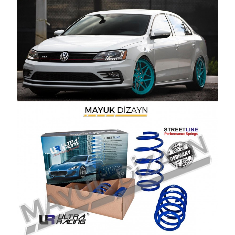 VW JETTA MK6 ULTRA RACING SPOR YAY (2010-2018) -MAYUK Dizayn-