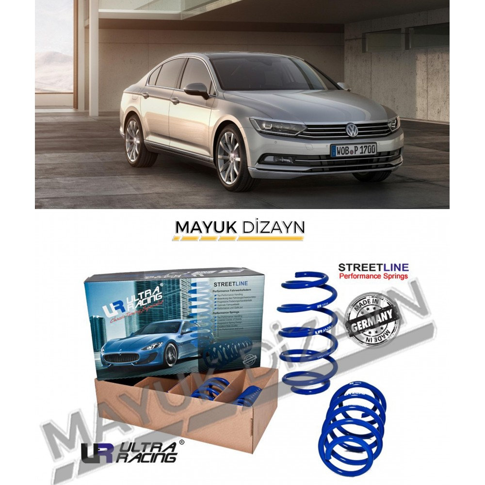 VW PASSAT B8 ULTRA RACING SPOR YAY (2015-) -MAYUK Dizayn-