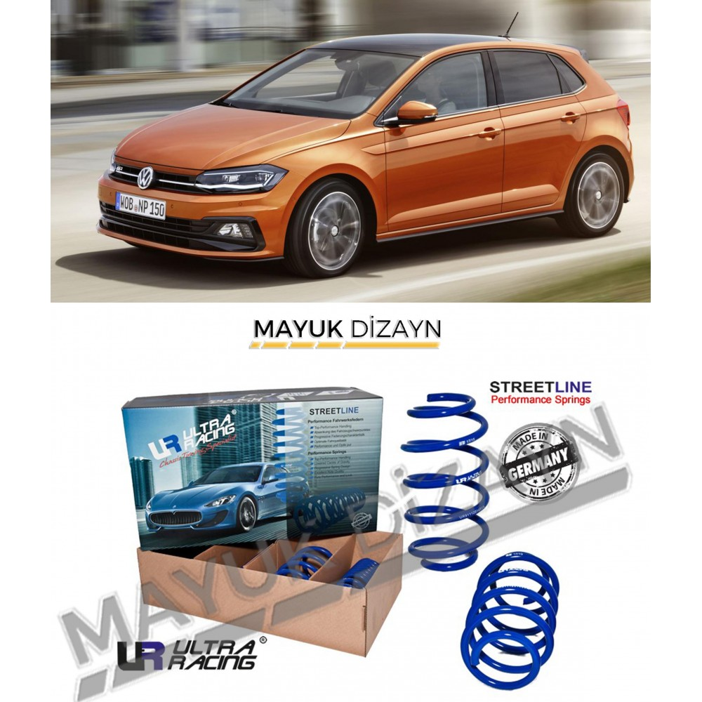 VW POLO MK6 ULTRA RACING SPOR YAY (2018-) -MAYUK Dizayn-