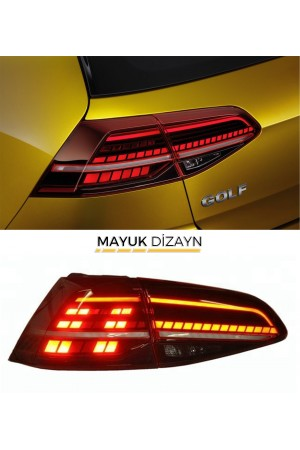 VW GOLF 7.5 Highline Led Stop Takımı (2012-) --MAYUK Dizayn--