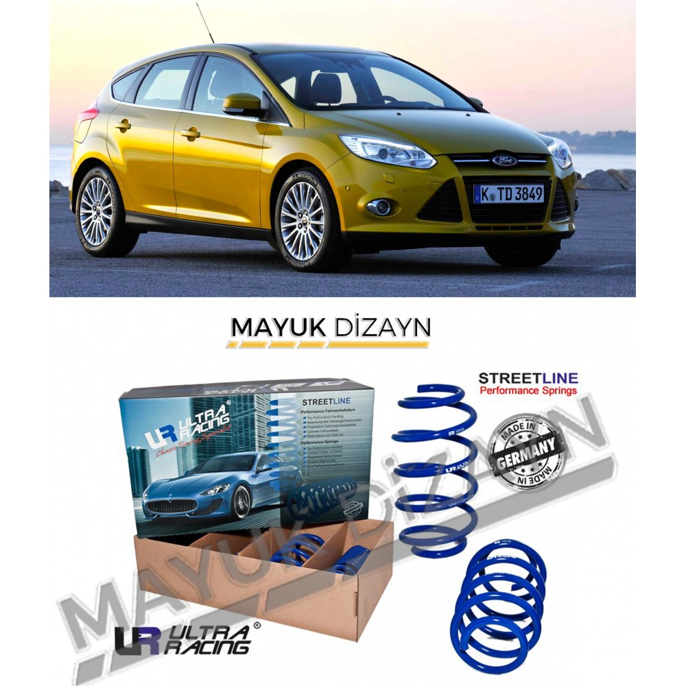 FORD FOCUS MK3 ULTRA RACING SPOR YAY (2011-) --MAYUK Dizayn--